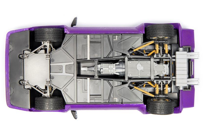 Italeri Lamborghini Countach - Bausatz 3683 - Baubericht auf modellbautest.de