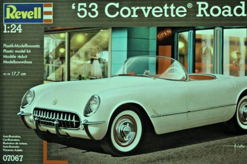 Modellbausatz 07067 - '53 Corvette Roadster von Revell
