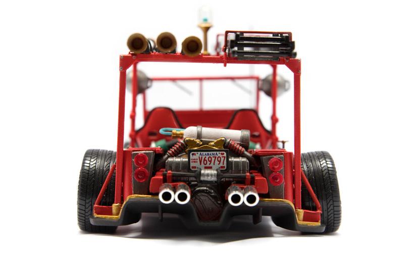 Italeri Fire Jeep - Bausatz 722 - Baubericht auf modellbautest.de
