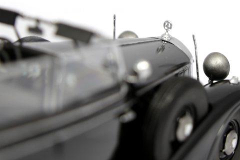 Detailaufnahme des ICM Mercedes 770K im Maßstab 1:35