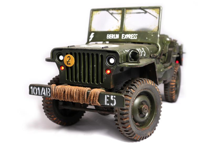 JJRC Willys Jeep - RC-Modell Q65 - Baubericht auf modellbautest.de