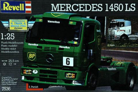 Modellbausatz 7536 - Mercedes 1450 von Revell Racetruck